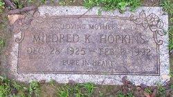 Mildred Katherine <I>Stevens</I> Hopkins