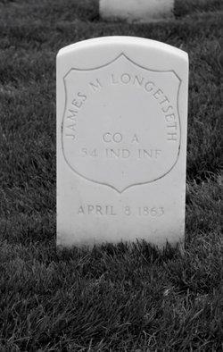Pvt James M. Longstreth
