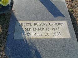 Cheryl <I>Rogers</I> Cameron