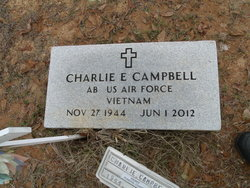 Charlie E Campbell