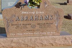 Orville Frank Abrahams