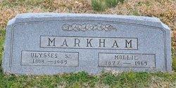 """Ulyses S. """"U.S."""" Markham"""
