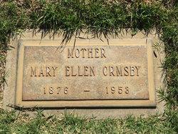 Mary Ellen <I>Wiggins</I> Ormsby