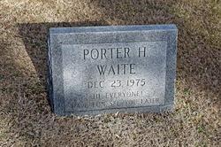 Porter H Waite