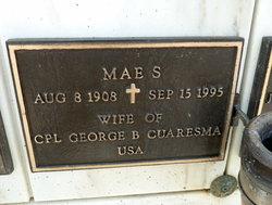 Mae S Cuaresma