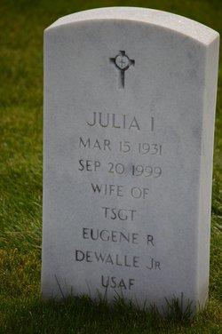 Julia Inez <I>Meaker</I> DeWalle