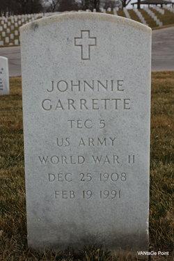 Johnnie Garrette