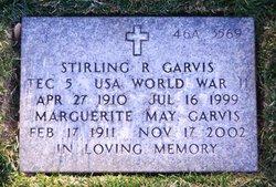 Stirling R Garvis