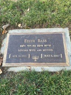 Edith <I>Popkin</I> Bass