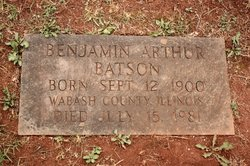 Benjamin Arthur Batson