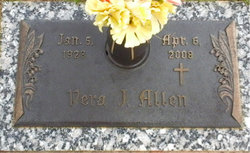 Vera J Allen