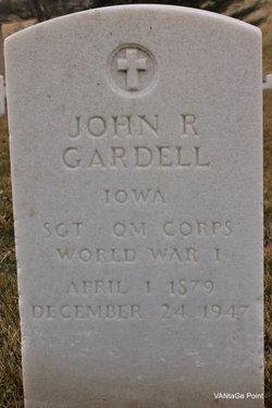 John R Gardell