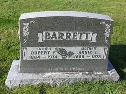 Annie Lavinia <I>Comeau</I> Barrett