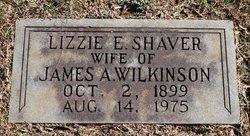 Lizzie E <I>Shaver</I> Wilkinson