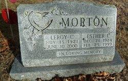 Esther L <I>Wight</I> Morton