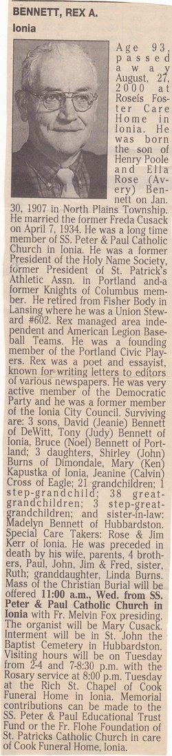 Rex Avery Bennett