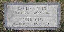 Darlene JoAnn <I>Dorman</I> Allen