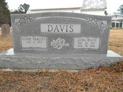 Letha <I>Heath</I> Davis