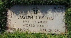 Joseph S Fettig