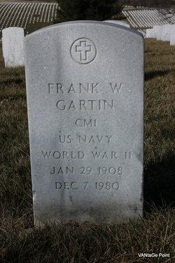Frank W Gartin