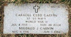 Mildred J <I>Alexander</I> Garvin