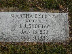 "Martha Ellen ""Mattie"" <I>Burris</I> Shoptaw"