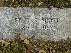 Lillie Ethel <I>Shoptaw</I> Scott