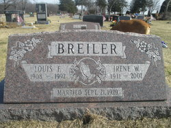 Irene W. <I>Boettger</I> Breiler