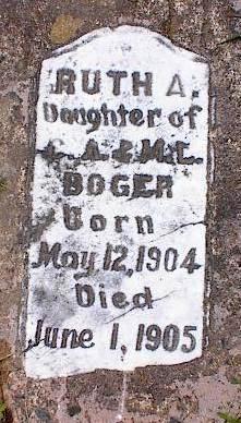 Ruth A Boger 1904 1905