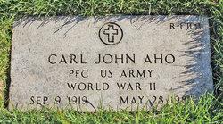Carl John Aho