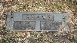 "Martha Louella ""Aunt Lue"" <I>Dillard</I> Adams"