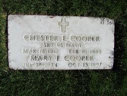 Mary Frances <I>Cunningham</I> Cooper