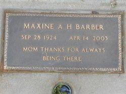 Maxine <I>Howard</I> Barber