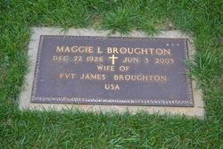 "Maggie L ""M Dea"" <I>McCoy</I> Broughton"