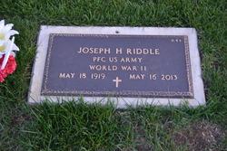 Joseph H. Riddle