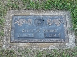 Betty W Koning