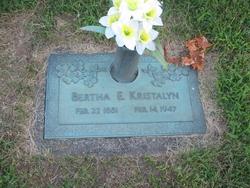 Bertha Ellen <I>Fair</I> Kristalyn