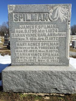 Sarah Vance <I>Harlan</I> Spilman