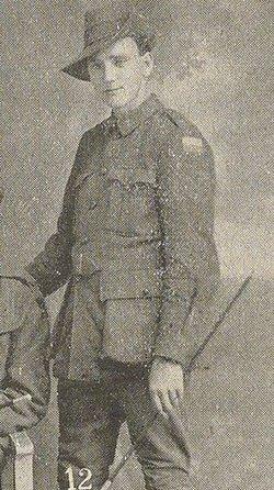 Private Aubray Frank Sparkes