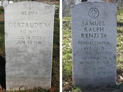 Gertrude M <I>Grindle</I> Renzi