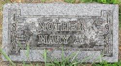 Mary A Bodin