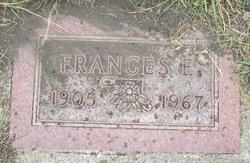 Frances E Halverson