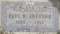 Paul W Johnson