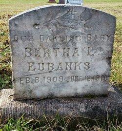 Bertha L Eubanks
