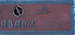 Rosa Lee Adams