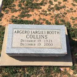"Argero ""Argie"" <I>Booth</I> Collins"