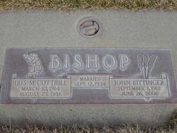 Iris Mildred <I>Cottrill</I> Bishop
