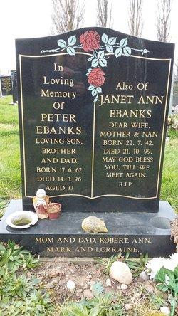 Janet Ann <I>Layton</I> Ebanks