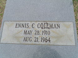 Ennis C Coleman