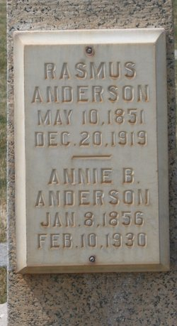Annie <I>Brotherson</I> Andersen
